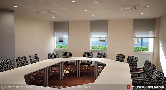 BHP Billiton 3D Interior
