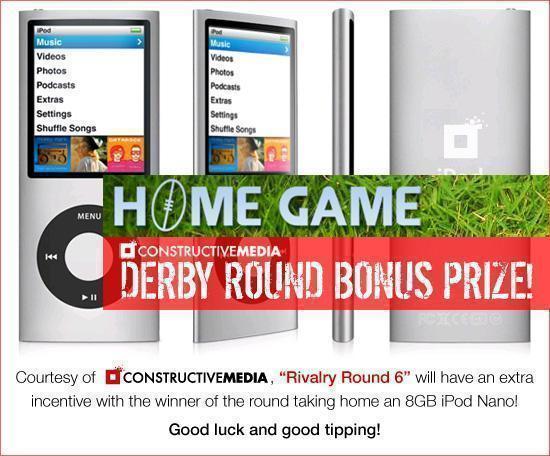 Constructive Media Bonus Derby Round Prize