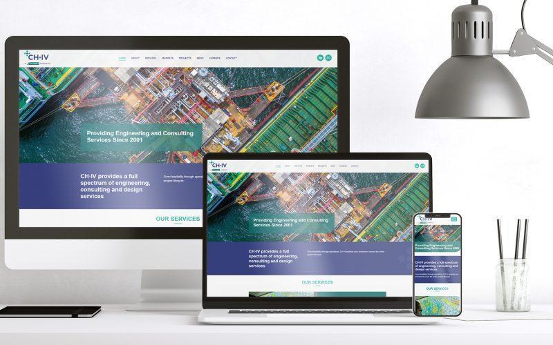 CH-IV Web Site Screens